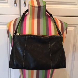 Liz Claiborne soft leather handbag. Perfect size.